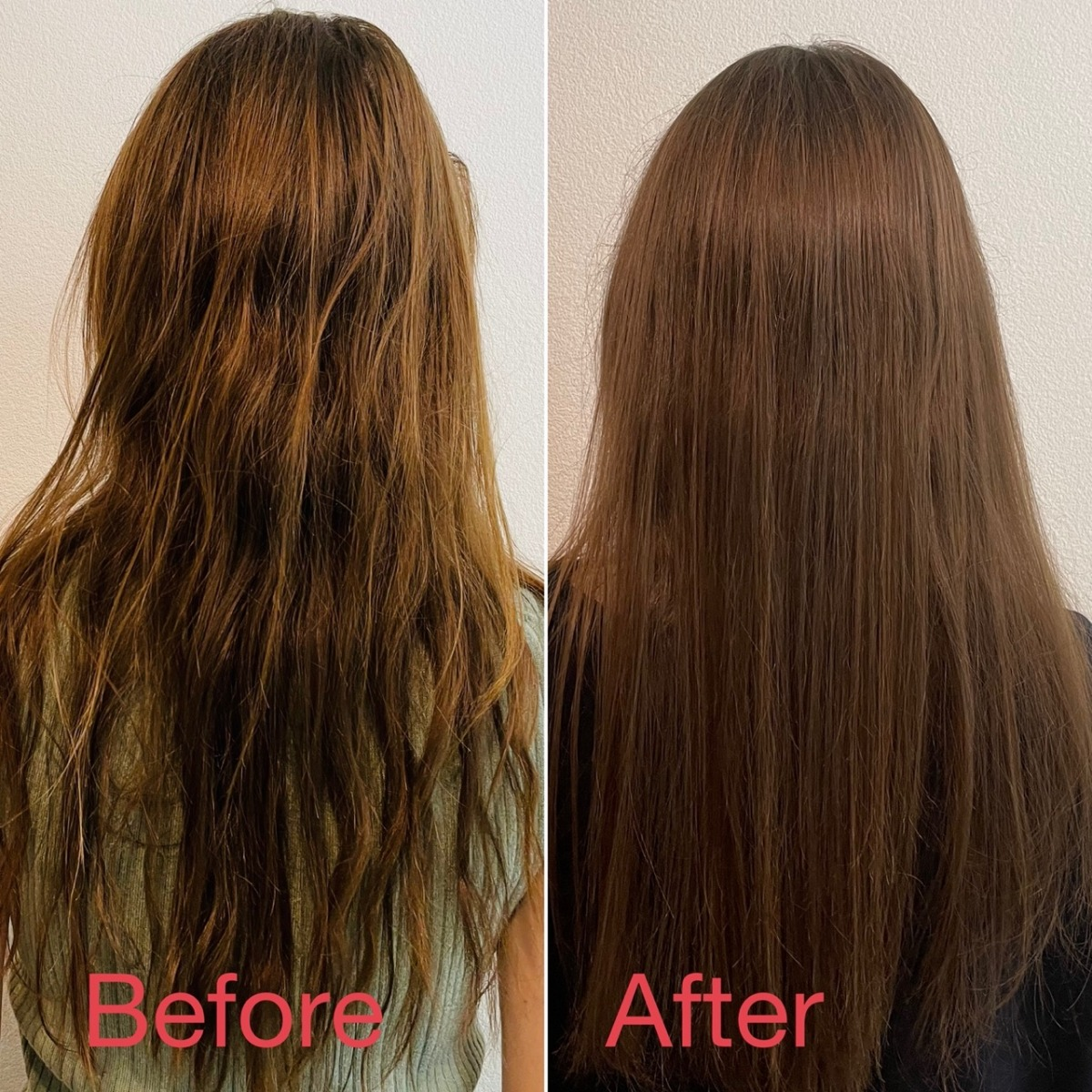 the-public-organic-super-positive-shampoo-and-treatment-before-and-after