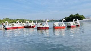 Ohori_park_boat